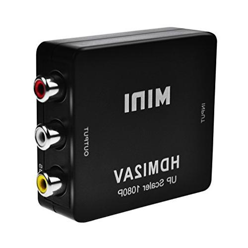 hdmi rca converter peotriol 1080p 3rca composite cvbs video