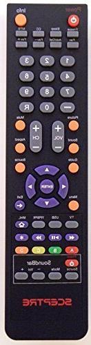 HDTV SCEPTRE 142022370010C Remote Control Controller Replace