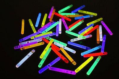 inch assorted mini glow sticks