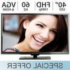 "Sceptre 40"" Inch Full HD LED 1080p 60Hz HD TV w/ HDMI & VGA"