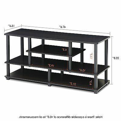 FURINNO TV to 50-Inch TV Storage Bin,