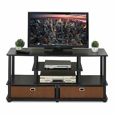 FURINNO JAYA Large TV Stand to 50-Inch