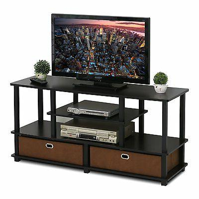 FURINNO Furinno JAYA TV to 50-Inch TV with Storage