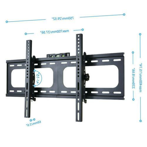 Jumbo Profile Fixed Slim Wall Bracket Flat LED LCD