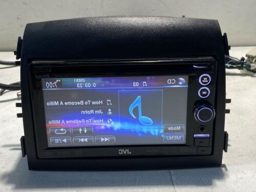 JVC KW-NT50HDT 6.1-Inch Dual with Navigation