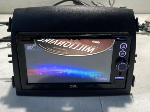 JVC KW-NT50HDT 6.1-Inch Dual Receiver with Navigation TESTED