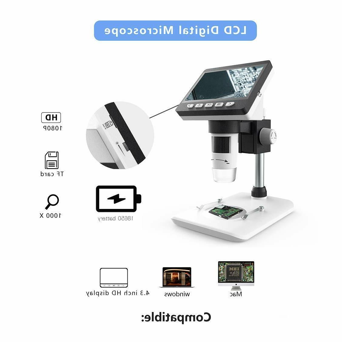 LCD Digital Inch Full Color Camera HD 50x