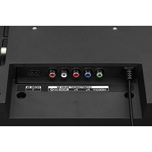LG 28LJ430B-PU Class HD LED with Two HDMI Cables, Professional Screen Cleaning and Joule 6-Outlet