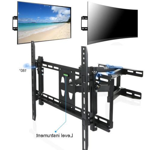 long extension curved tv wall mount bracket