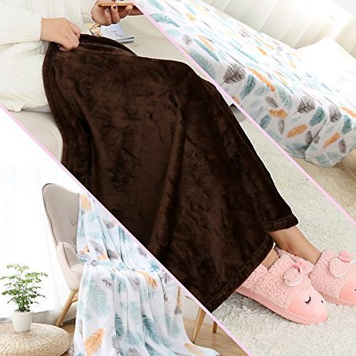 SCOCICI1588 Throw Blanket detailed texture definition The Dark Soft And