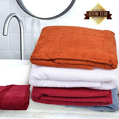 FOREER Egyptian Cotton in & Absorbent. Match Any Decor.