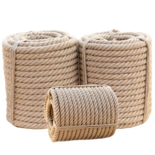 Twisted 3 Strand Fiber for Indoor & Outdoor