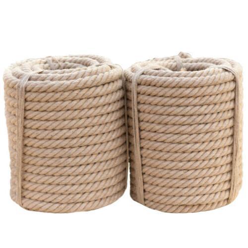 manila tan brown rope twisted 3 strand