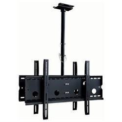 Mount-It! MI-502B, Adjustable, Heavy-Duty Dual Ceiling TV Mo