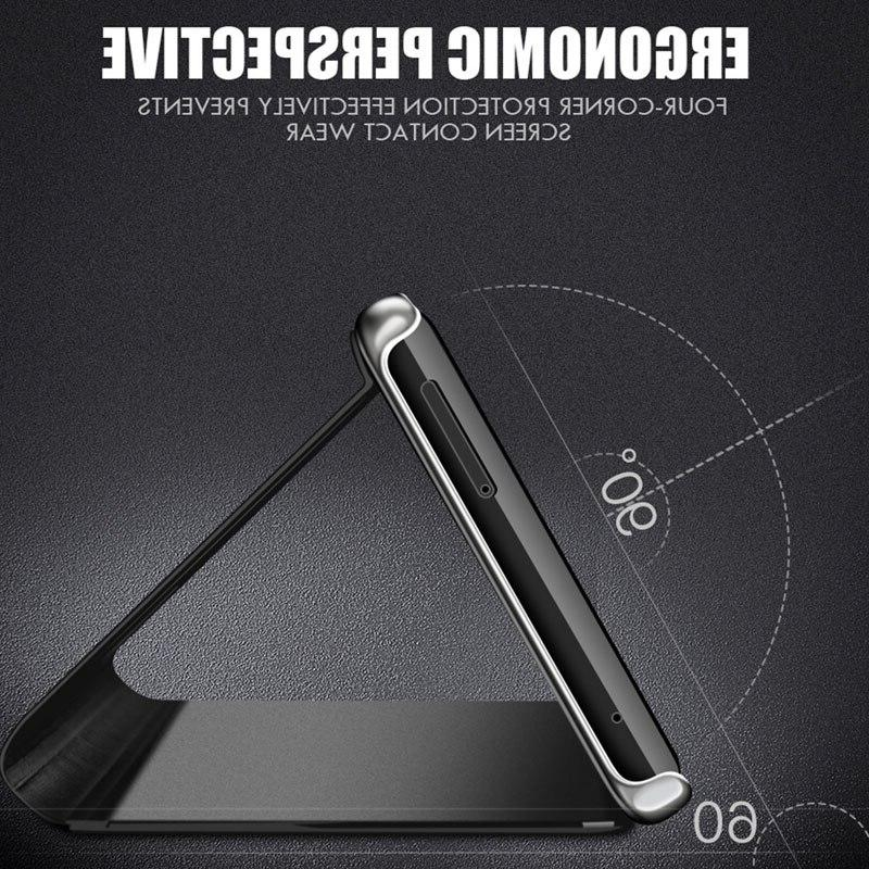 Mirror Flip Case For <font><b>Samsung</b></font> A50 A40 A70 M20 M10 A10 Case Note 9 10 Pro Protective Cover