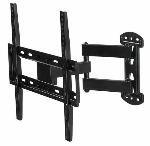 Mount-It! Full Motion TV Wall Mount Corner Bracket with Exte