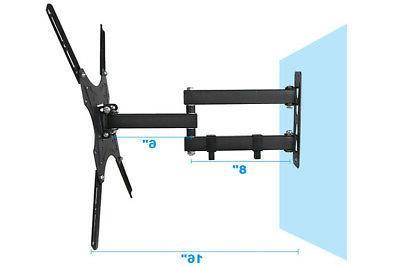 """Full TV Mount Swivel For 27""""32""""37""""42""""46""""47""""50""""55""""inch LED LCD"""