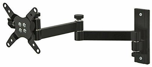 Mount-It! Monitor Wall Mount with Full Motion Arm for 19-30