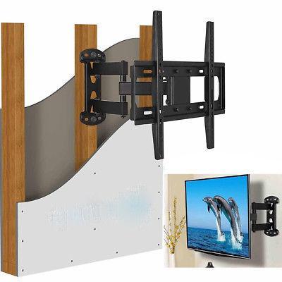Full Motion TV Wall Mount Bracket Single Stud for