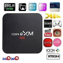 QacQoc MXQ Pro Android TV Box Amlogic S905 Chipset Kodi 15.2