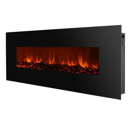 new 50 electric wall mounted fireplace heater