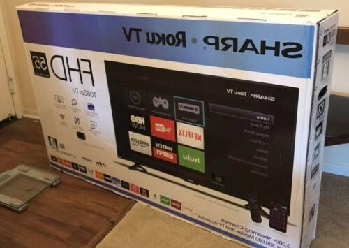 NEW 1 DAY SALE Sharp 55 Inch UPGRADE 4K Class LED 1080p SMAR