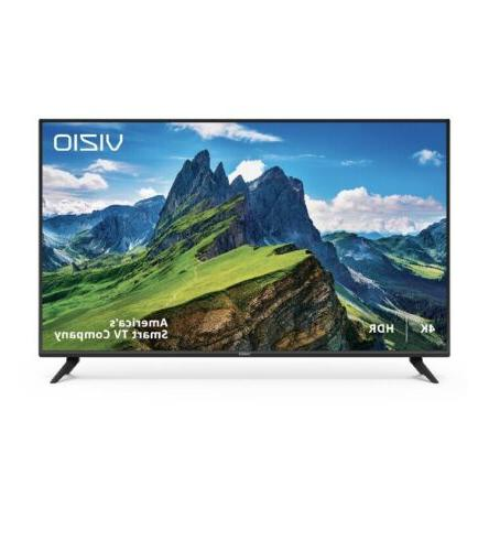 New Vizio 50 Inch Smart TV Class 4K Ultra HD  HDR Smart Led