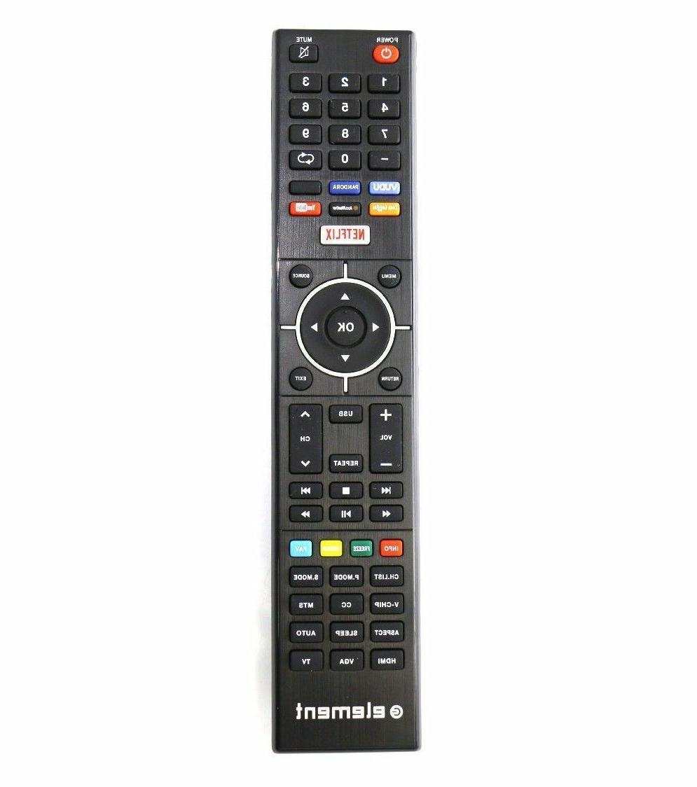 GENUINE ELEMENT TV REMOTE CONTROLS