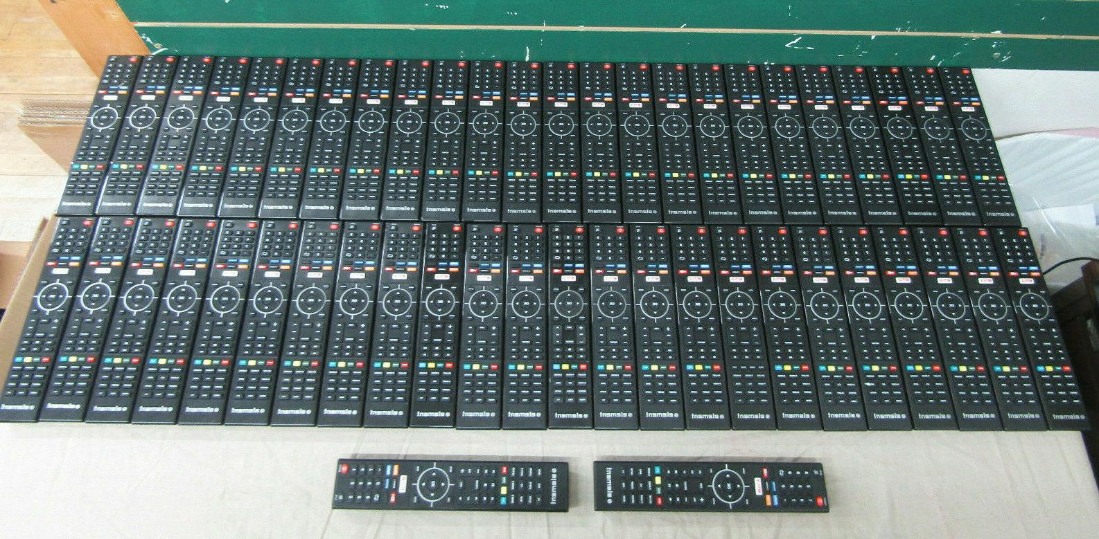 new lot of 50 genuine tv remote