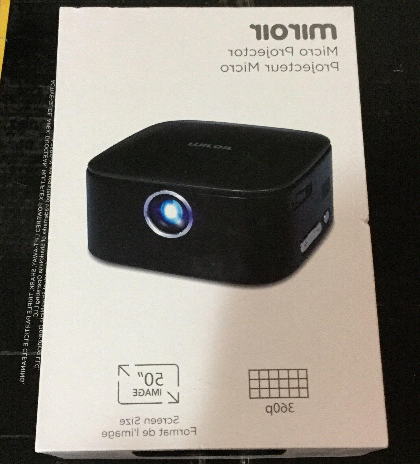 new m75 portable projector grey 50 inch