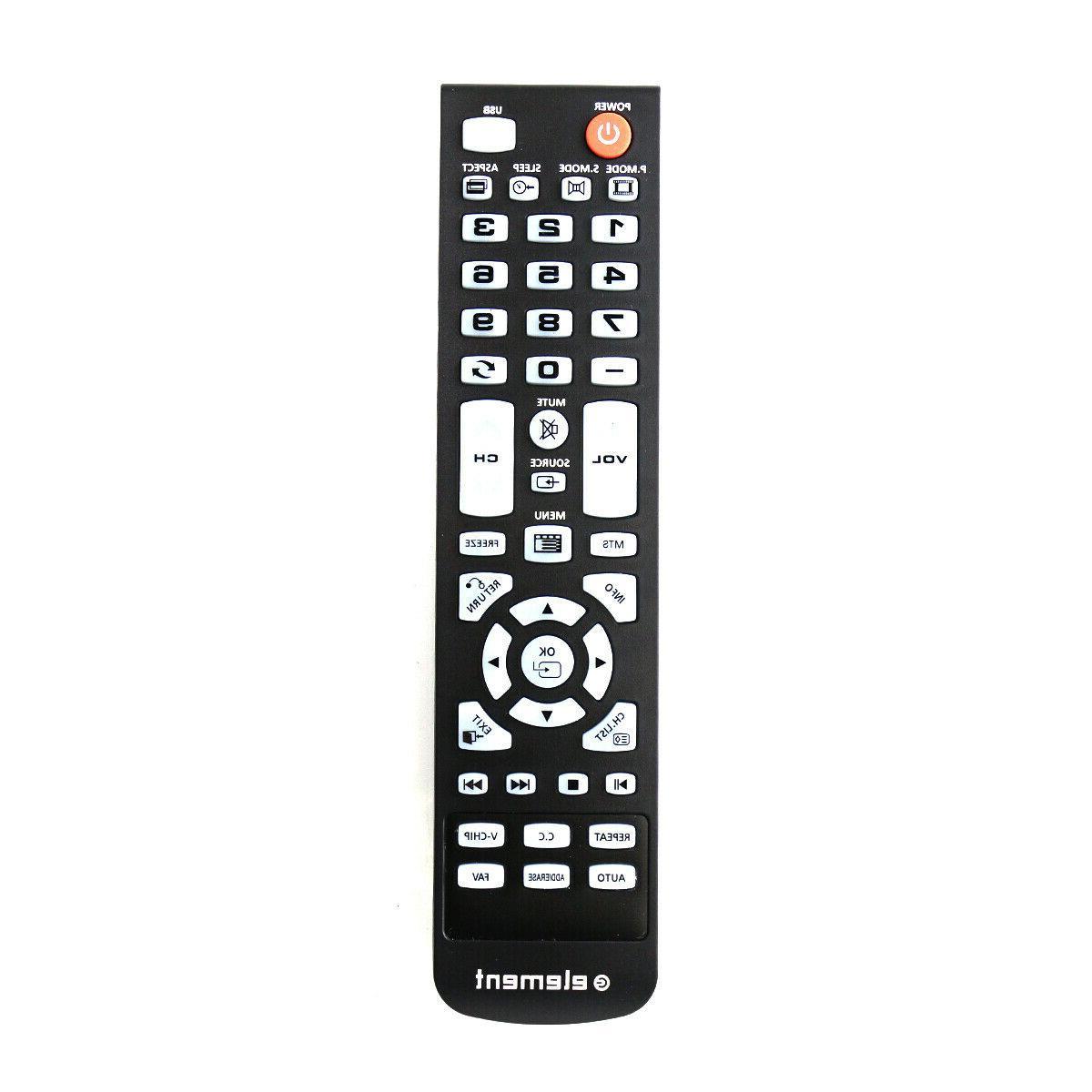 New Remote For Element TV ELEFW504 ELFW4017 ELEFJ191 ELEFW32