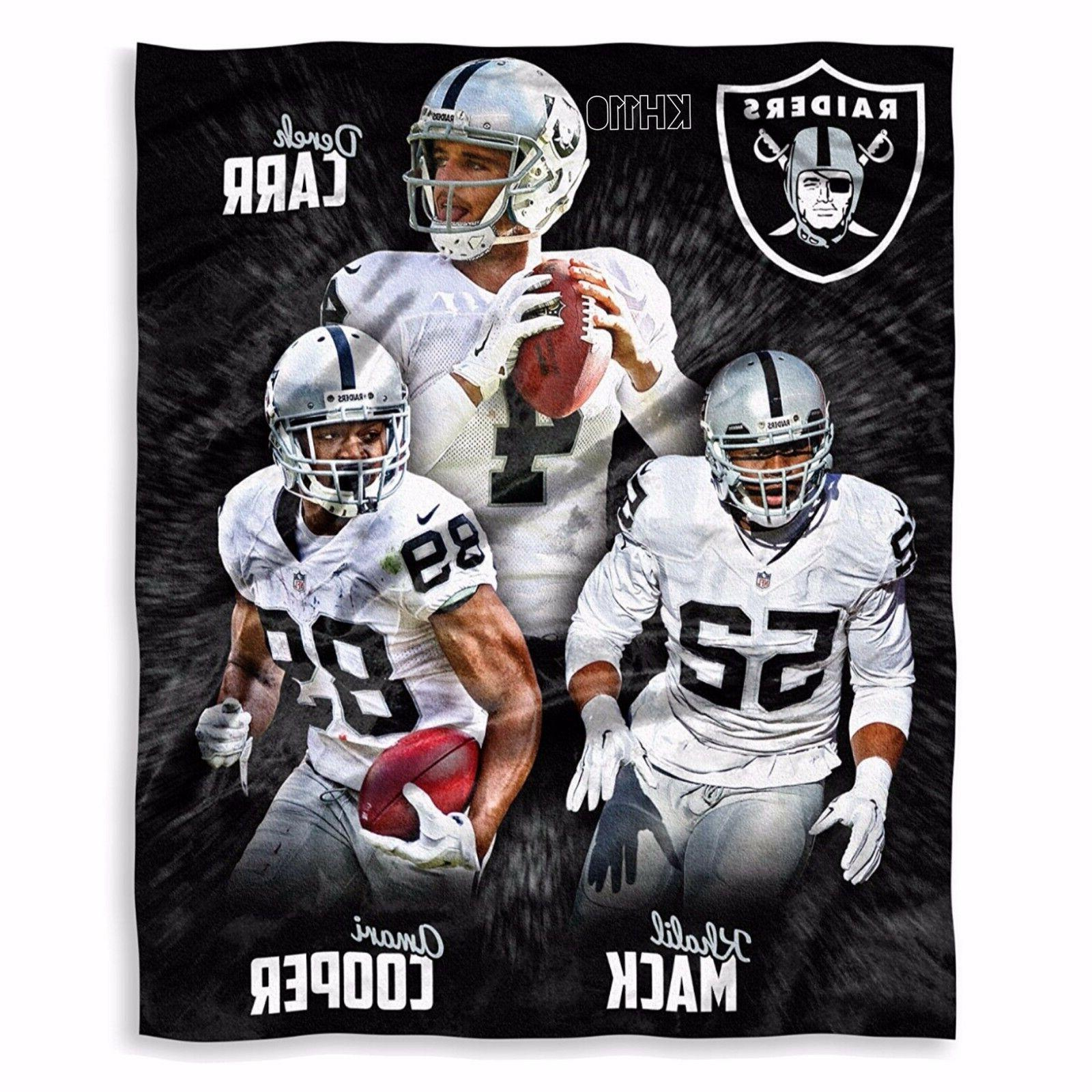 NFL Oakland Raiders Players High Definition Silk Touch Throw