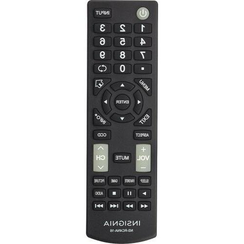 Original New Insignia Remote NS-RC4NA-16 for All Insignia TV