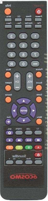 Original New oCOSMO TV Remote Control for CE4701 CE4031 CE40