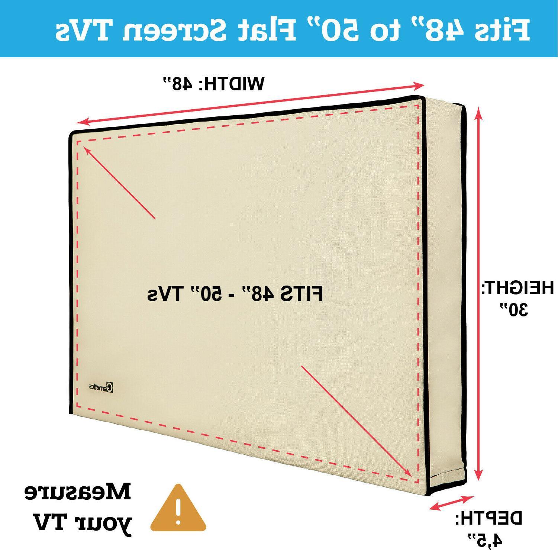 Outdoor 48 flat TVs Weatherproof protection