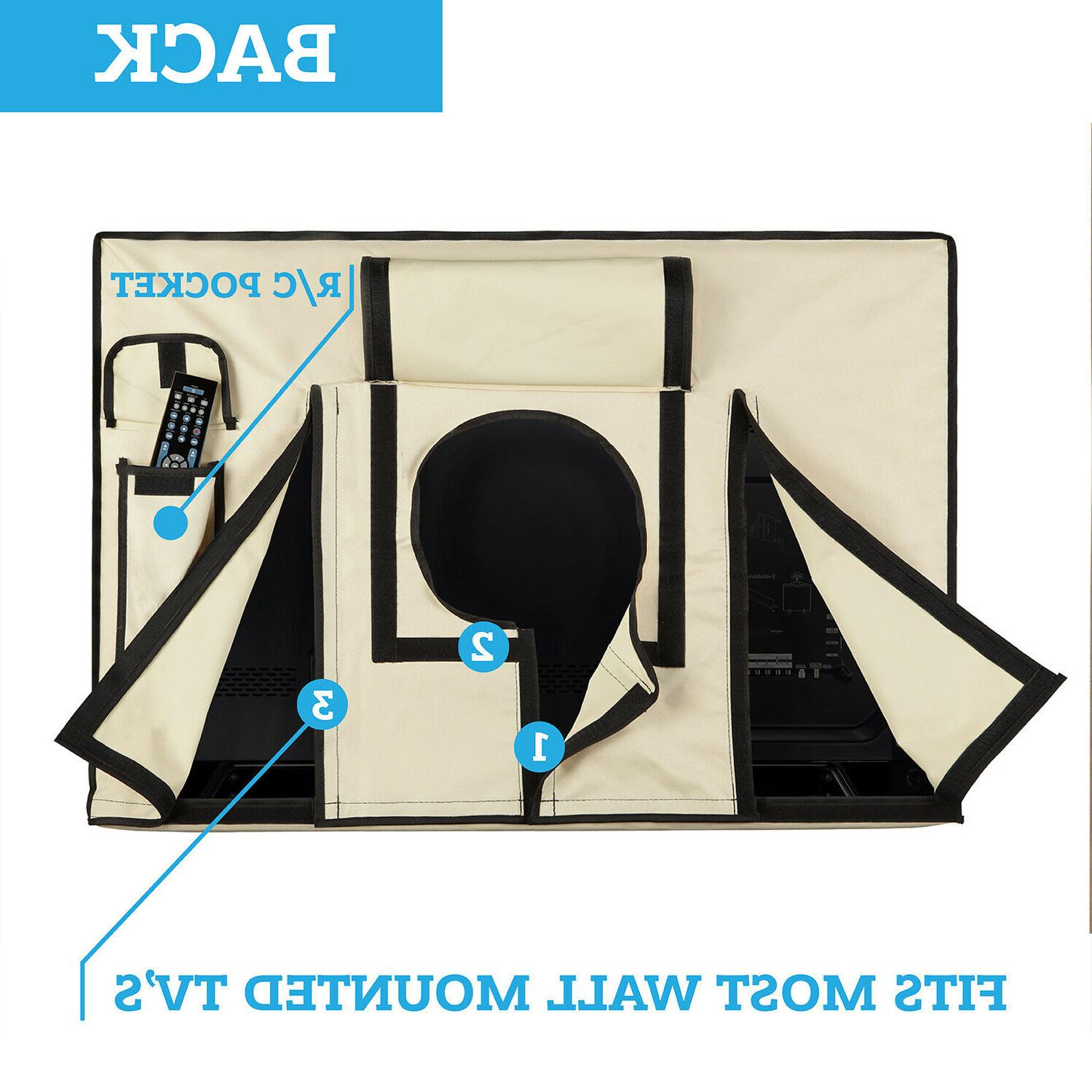 Outdoor Cover 48 flat Weatherproof protection
