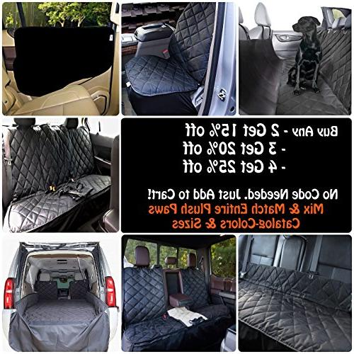Plush Seat Cover for Compact Small Cars WaterProof Removable