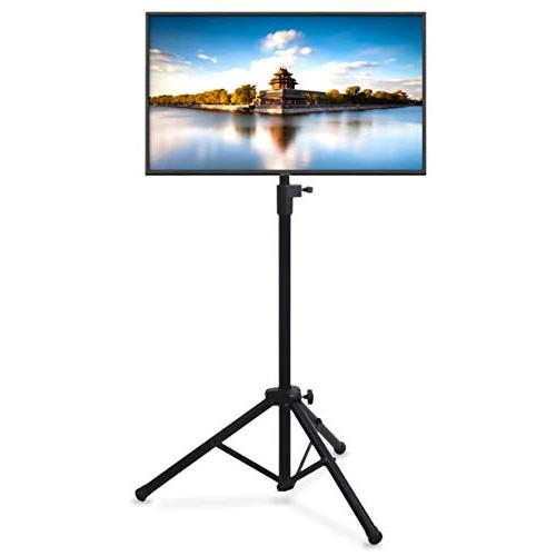 Portable Tripod TV Stand - Television LCD Flat Panel Monitor