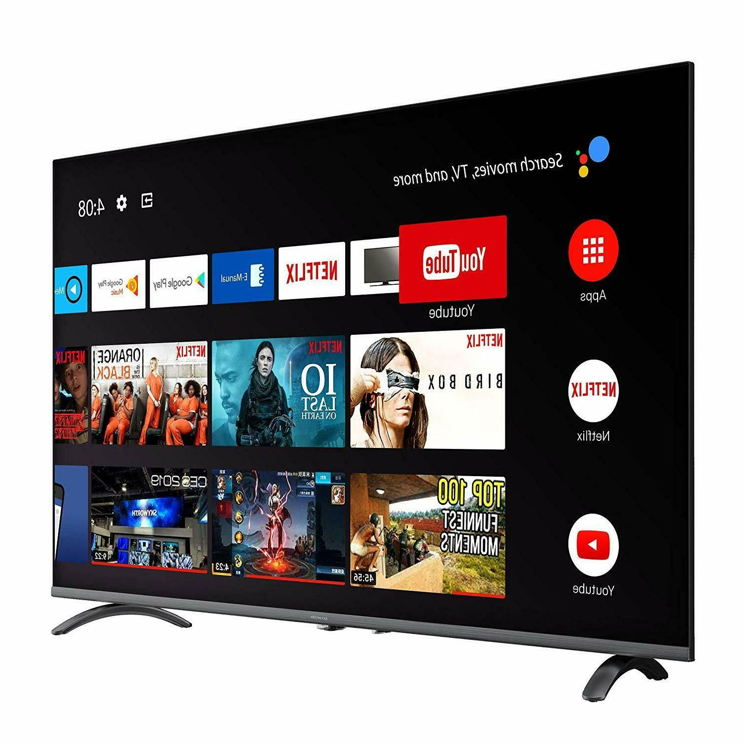 4K UHD HDR A53 Android Smart TV