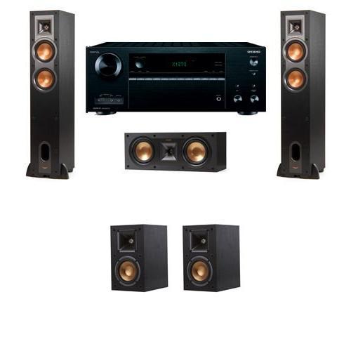 Klipsch R-24F Floorstanding Speakers 5 0 with Onkyo TX-NR656
