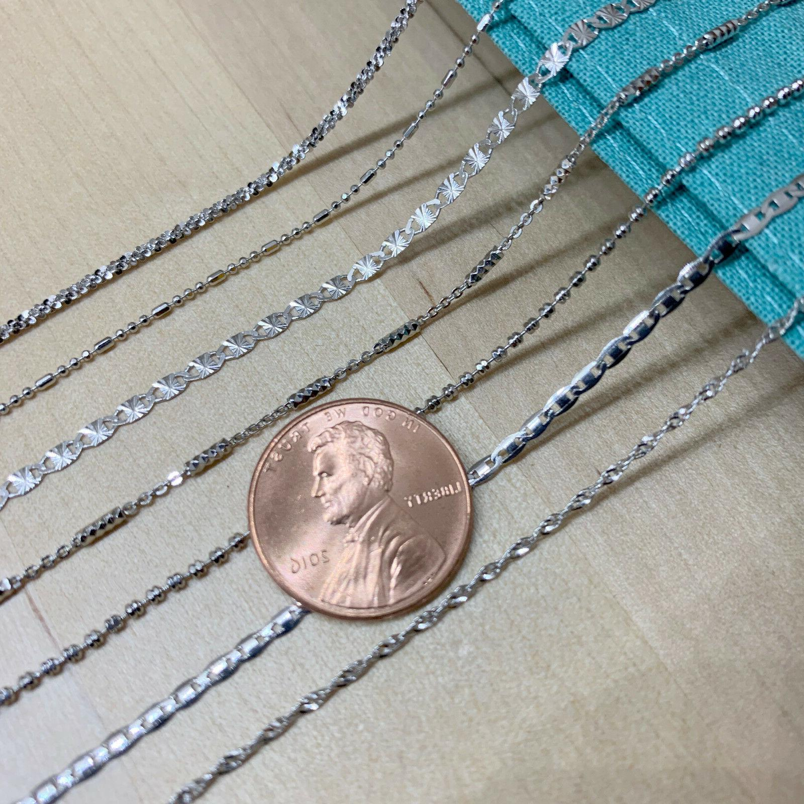 Real Unique SOLID 925 Sterling Chain Made Italy