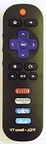 Remote ROKU TCL RC280 for Model Numbers: 28S3750 32S3750 32S