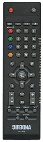 Anderic Replacement Westinghouse RMT-11 TV remote control -