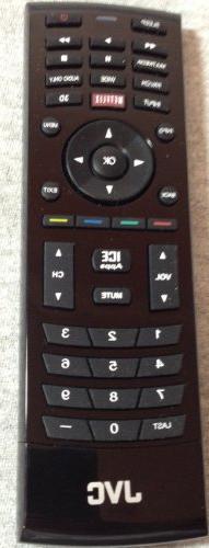 Original JVC RMT-JC02 Remote Control Qwerty Netflix