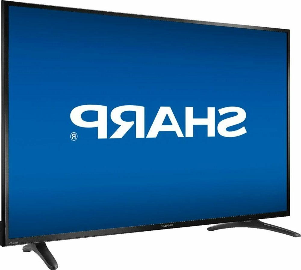 Sharp Class 2160P UHD HDR HDMI Built Roku WiFi