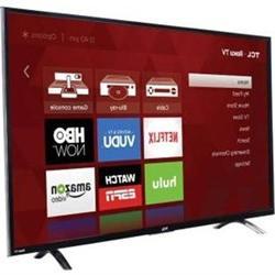 """TCL 49"""" LED Roku TV"""