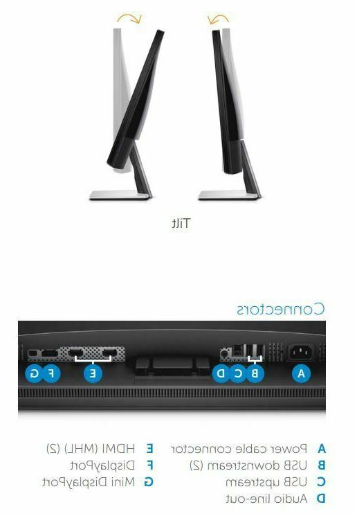 Dell S2817Q HD 4K Monitor Resolution, Ultrafast