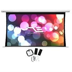 Elite Screens Saker Tab Tension 150 inch 16 9 Tensioned Elec