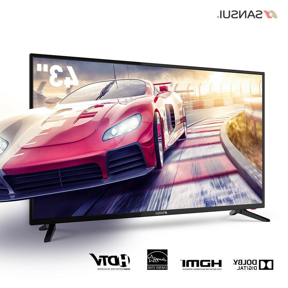 "SANSUI TV 24"" 32"" 40"" 43'' TV  LED TV TV with Flat Screen HD"