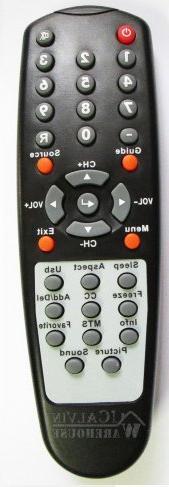 SCEPTRE TV Remote X32GV-KOMODO , X32BV-FULLHD , X32BV-NAGA